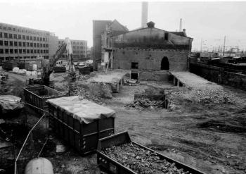 19940126 Abriss Altes Gaswerk von 1861
