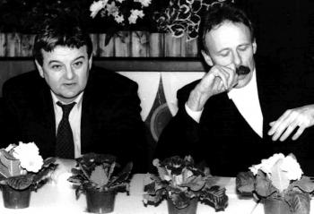 19940224 Grüne Wahlkampf Fischer,Trittin