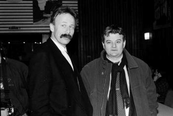 19940224 Grüne Wahlkampf Trittin, Fischer