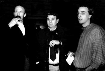 19940224 Grüne Wahlkampf,Trittin, Fischer,Wenzel