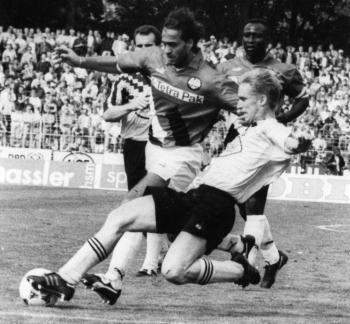 19940813 Göttingen 05 -  Frankfurt, Pokal