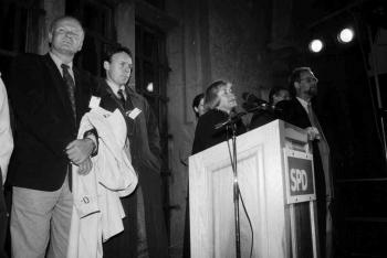 19941006 SPD-Wahl, Scharping, Danielmeier