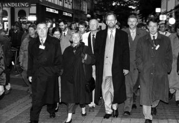 19941006 SPD-Wahl, Scharping, Oppermann