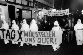 19941123 Demo gegen Atomtransporte