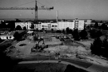 19950816 Baustelle Feuerache Klinikum