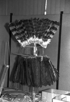 19960210 Indianerschmuck im Museum 1