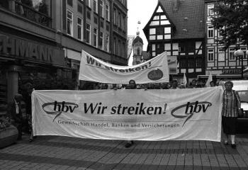 19960724 Demo Streik