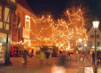 19971201 Weihnachtsmarkt Göttingen 1