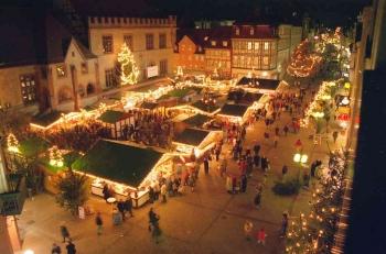 19971201 Weihnachtsmarkt Göttingen