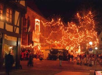 19971201 Weihnachtsmarkt Göttingen 2
