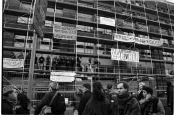 19971209 Demo Polizeigebäude