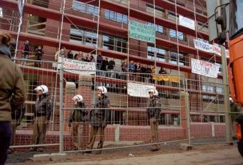 19971209 Demo Polizeigebäude 5
