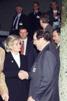19980127 Hannelore Kohl, Fischer