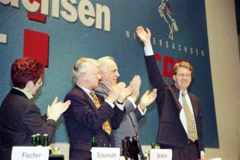 19980127 Kohl in Dudestadt Wulff
