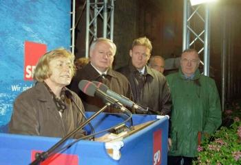 19980914 Wahl 98 SPD Wettig,Lafontaine,Oppermann