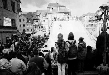 19981119 Rodelbahn Marktplatz