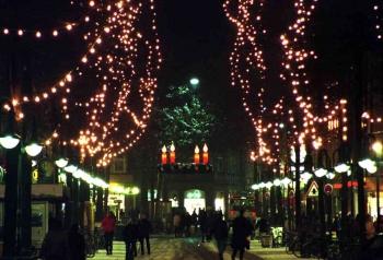 19981202 Weihnachtsbeleuchtung 1