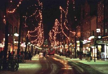 19981202 Weihnachtsbeleuchtung Göttingen 1