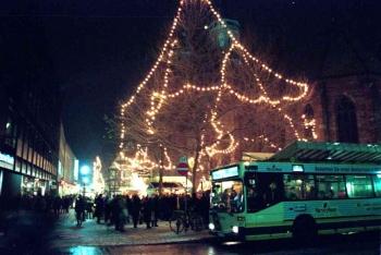 19981202 Weihnachtsbeleuchtung Göttingen 2