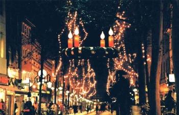 19981202 Weihnachtsbeleuchtung Gronerstr.