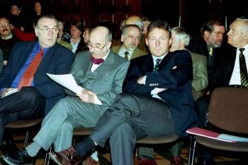 19981206 50 Jahre VHS, Rehbein, Kallmeier, Oppermann