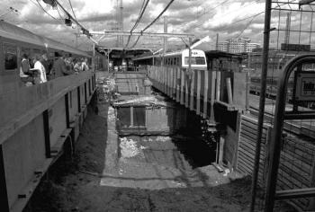 19990820 Tunnel Neubau Bahnhof 1
