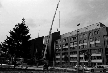 19990916 Antenne für Polizeigebäude
