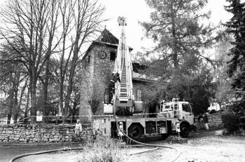 19991107 Feuer Kirche Roringen 1