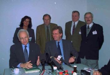 19991117 CDU Haxenessen, Steuber, Wulff, Fischer 1