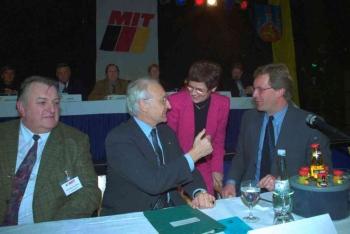 19991117 CDU Haxenessen, Steuber, Wulff, Süssmuth