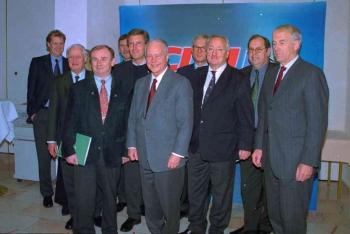 20010203 CDU Landesvorstand Wulff, Albrecht, Fischer