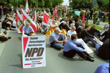 20010601 NPD in Göttingen 3
