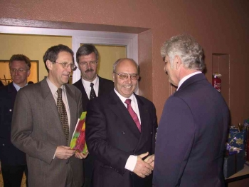 20011206 Verabschiedung Renner,Suermann,Meyer,Danielowski