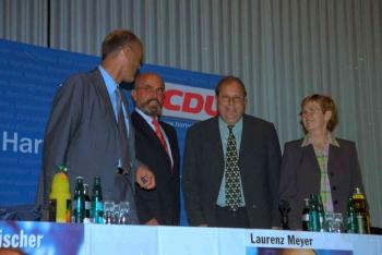 20020913 CDU Laurenz Meyer, Noack,Fischer
