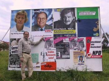 20020922 Wahlplakate