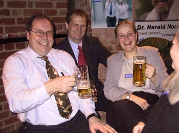 20030202 Wahl Nds. Landtag Fischer, Güntzler, Stollwerck
