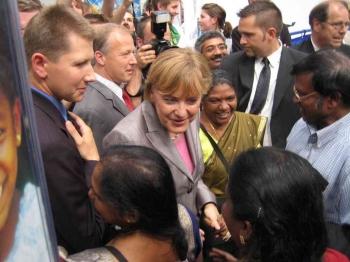 20050526 30.Evgl. Kirchentag Hannover, Merkel
