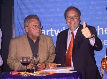 20050918  Bundestagswahl 2005, Koch, Fischer