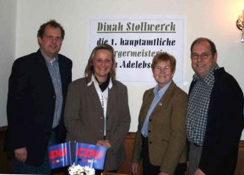 20060122    Wahl D. Stollwerck Bürgermeisterin in Adelebsen