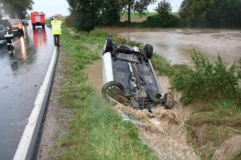 20070929 Unfall vor Kl. Lengden