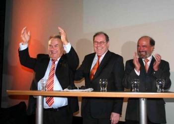20080119 Wahl zum Nds. Landtag, Koch, Fischer, Noack