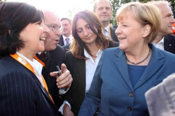 20130916 Wahl Güntzler, Merkel in Duderstadt 1