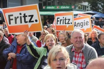 20130916 Wahl Güntzler, Merkel in Duderstadt