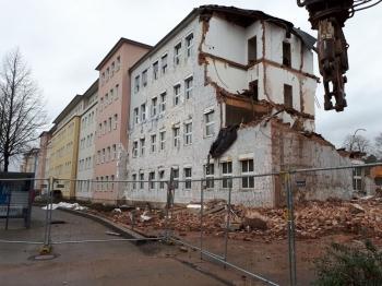 20200310 Abriss Gothaer Vers. Geismarlandstraße