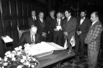 19880504 Partnerschaft Wittenberg DDR