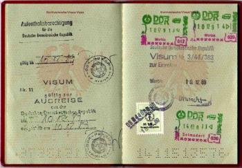 19891210 Paß DDR