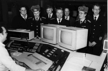 19900113 Besuch Berufsfeuerwehr